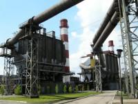 На запорожском заводе тушили пожар
