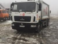 В Запорожье стреляли в водителя мусоровоза