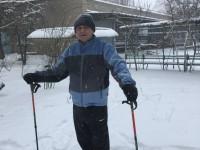 Учитель из Запорожской области сбросил благодаря скандинавской ходьбе почти 60 кг