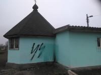 На Шевченковском пытались сжечь храм московского патриархата