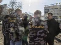Группа активистов помешала застройщику вырыть котлован в сквере Яланского
