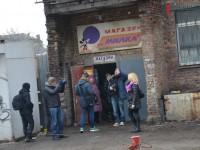 В центре Запорожья прошли съемки шоу «Міняю жінку»
