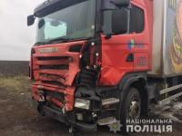 На запорожской трассе в фуру «Макдональдса» врезалось легковое авто: погибли люди (Фото)