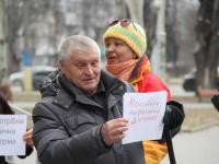 Запорожцы вышли на митинг в поддержку Супрун под суд