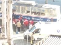 На Кичкасе пешехода сбил трамвай
