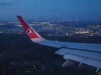 Пилот турецкой авиакомпании не смог приземлиться в запорожском аэропорту и вернулся в Стамбул