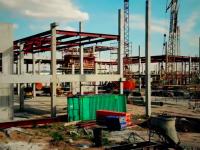 Строительство нового терминала запорожского аэропорта сняли с высоты птичьего полета (Видео)