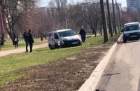 Коммунальщики попали в ДТП на запорожской Набережной
