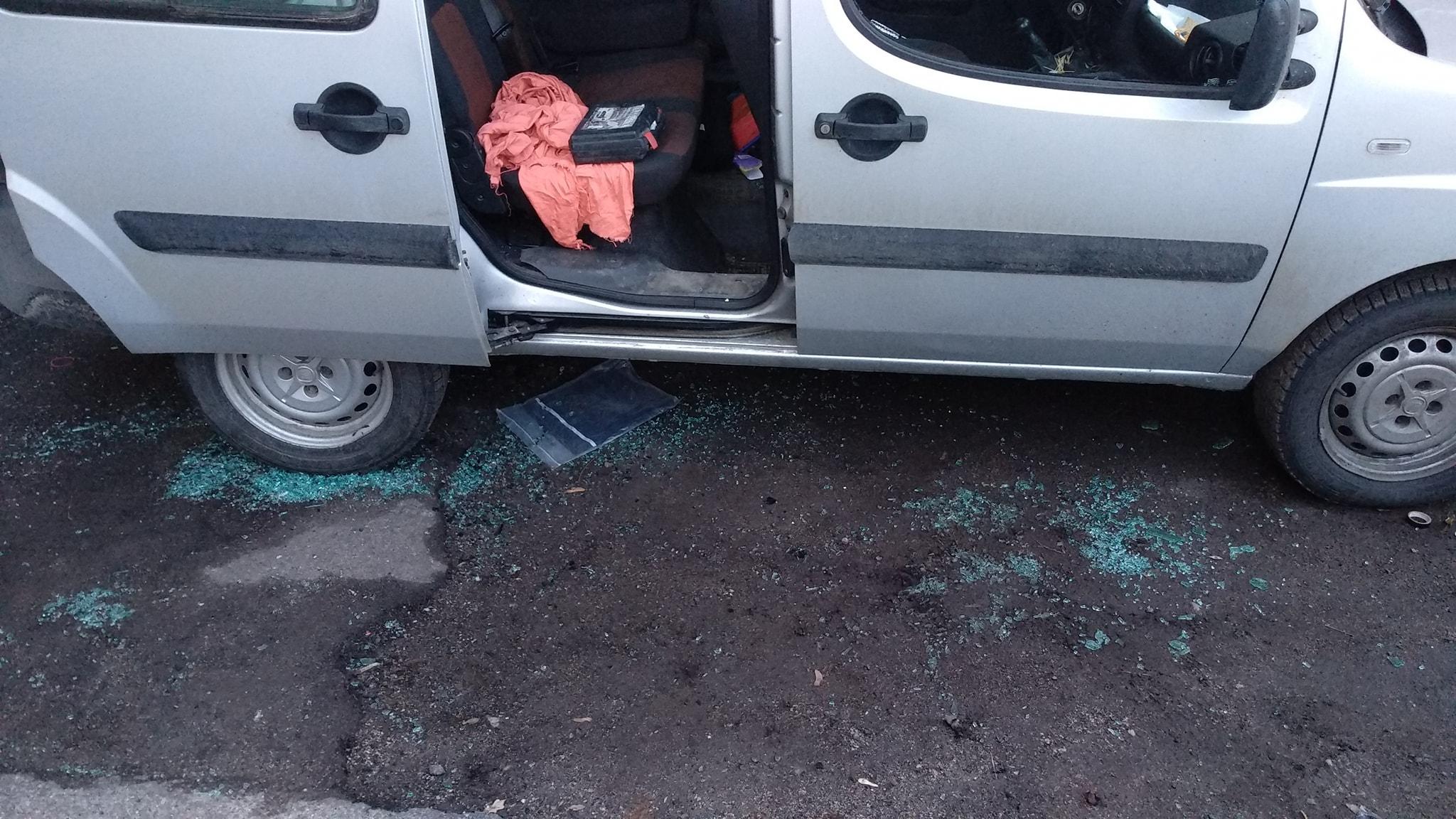 Полицейские задержали подозреваемого в погроме авто запорожского активиста