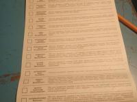 Первые нарушения: под Запорожьем задержан избиратель, сфотографировавший бюллетень