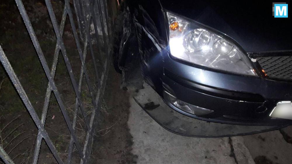 В Энергодаре пьяный водитель попал в аварию, заснув за рулем