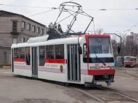 В Запорожье на маршрут вышел очередной новый трамвай