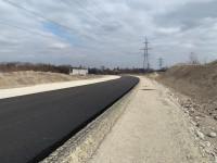 В промзоне Запорожья строят новую дорогу (Фото)