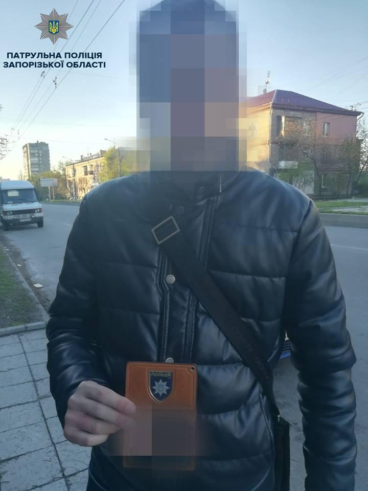 Задержанный за пьяную езду водитель прикрывался удостоверением антикоррупционера