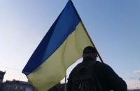 Массово скандировали «Дякуємо!»: запорожцы вышли поблагодарить Порошенко
