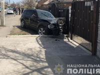 На Шевченковском водитель «БМВ» насмерть сбила ребенка и влетел в забор
