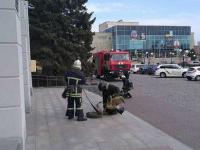 В Бердянске эвакуировали работников мэрии