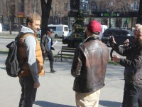 В Запорожье прошли съемки еще одного тревел-шоу
