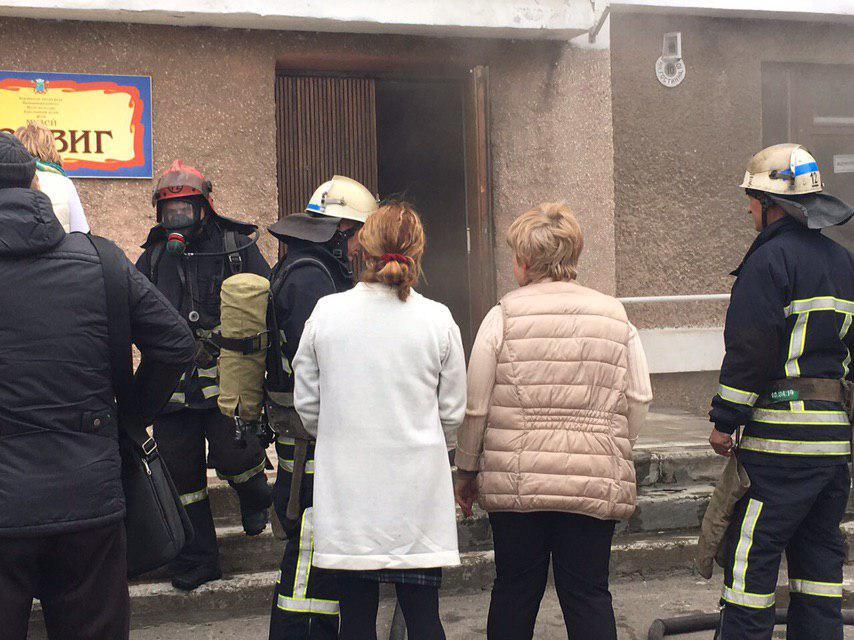 В Бердянске из-за нарушений правил безопасности горел музей