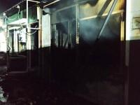 На Шевченковском ночью горел рынок
