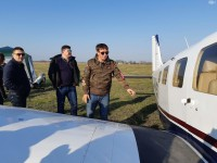 Известный путешественник прилетел в Запорожье устанавливать рекорд
