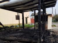 На запорожском курорте сгорели два киоска: владелец объявил награду за «голову» поджигателя