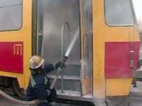 На Кичкасе снова горел трамвай