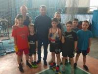 В Запорожье побывал Василий Ломаченко
