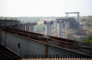 Не дождемся: на корректировку проекта строительства запорожских мостов не хватает денег