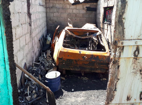 За последние сутки в Запорожской области сгорели два авто
