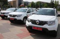 В Запорожской области 17 сельским больницам передали новенький автотранспорт