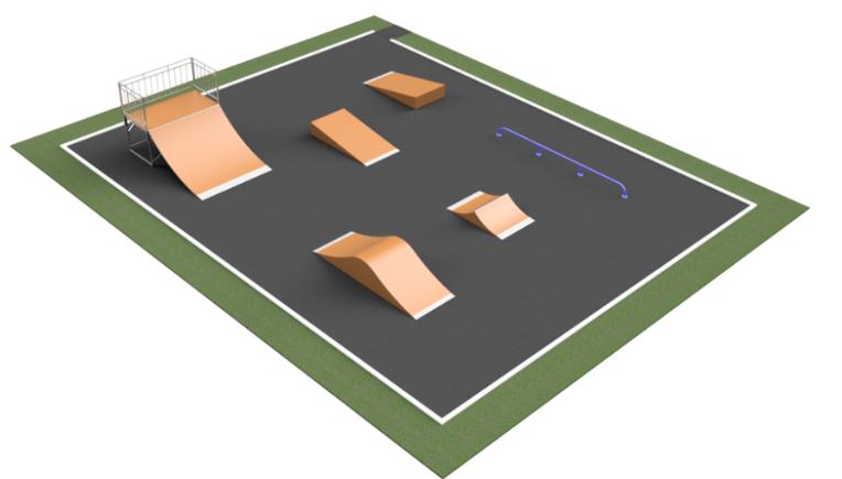 В Запорожье хотят построить новый скейт-парк