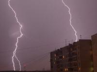 В Запорожье сегодня ожидается сильная гроза и шквальный ветер