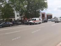 В Запорожской области «скорая» с тяжелой пациенткой попала в аварию