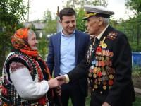 Опубликовано фото Зеленского с ветеранами в Запорожье