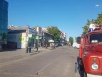 На запорожском курорте с торгового центра эвакуировали посетителей