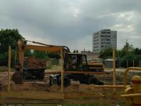 В поселке, который облюбовали запорожские ВИПы, строят медцентр