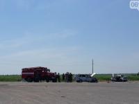 В запорожском селе после ДТП в больницу попали 6 человек