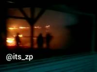 На Набережной Запорожья незадолго до открытия сгорел бар