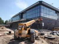 Как сейчас выглядит строительство нового терминала запорожского аэропорта (Фото)