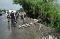 На трассе перевернулся автобус Запорожье – Сучава: пострадали 6 человек