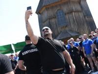 При 35-градусной жаре на Хортице патрульные со всей страны сражались за звание самых сильных – судил Вирастюк (Фоторепортаж)