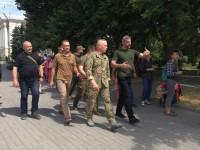 Ветеран АТО, кандидат в депутаты от партии «Европейская Солидарность» Алексей Петров: Нашей стране нужен политический спецназ, который сможет её защитить