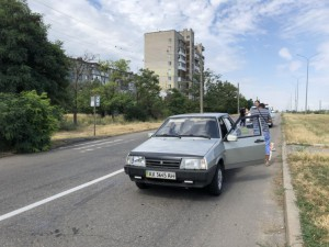 В Бердянске на пешеходном переходе сбили женщину