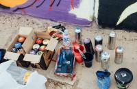 В Запорожье прошел фестиваль граффити, в котором приняли участие гости из Лос-Анджелеса (Фоторепортаж)