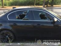 В полиции прокомментировали найденный у Хортицы автомобиль: стрельбы не было (Фото)