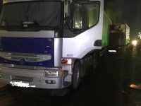 В Запорожье водитель фуры уснул за рулем и попал в ДТП (Фото)