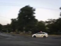 Запорожские полицейские устроили погоню за пьяным водителем (Видео)