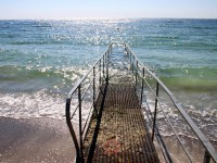 В Кирилловке обустроят пляж для отдыхающих с инвалидностью