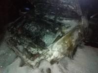 В Запорожье ночью сгорела «Alfa-Romeo» (Фото)